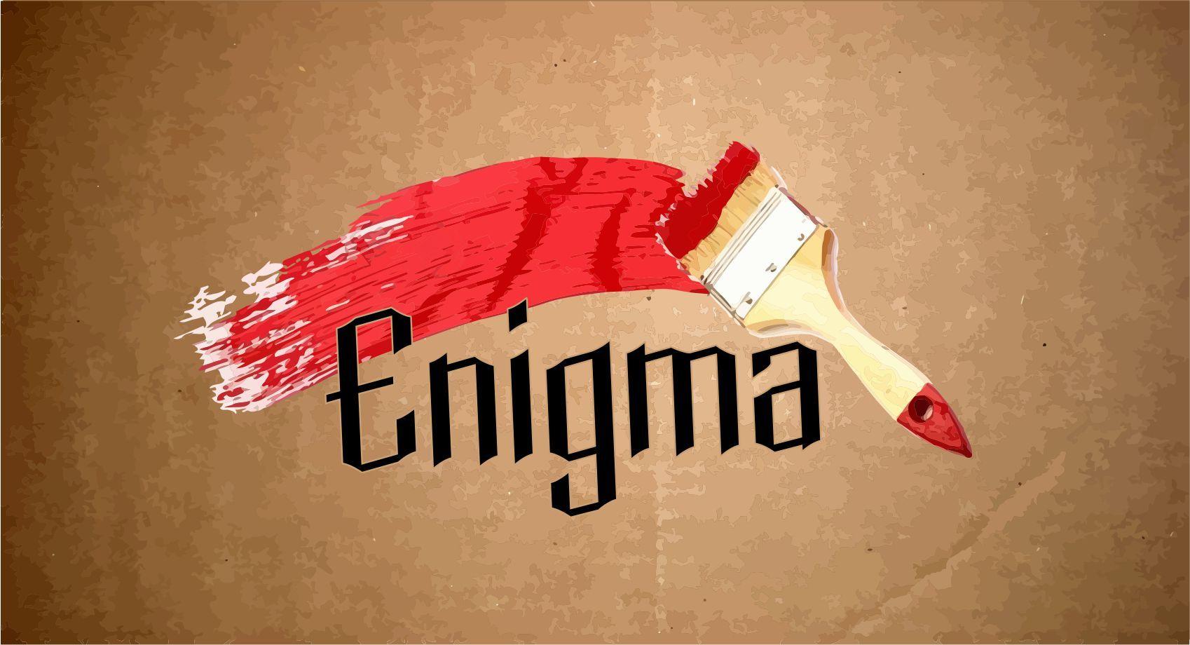 Логотип и фирмстиль для Enigma - дизайнер niko93