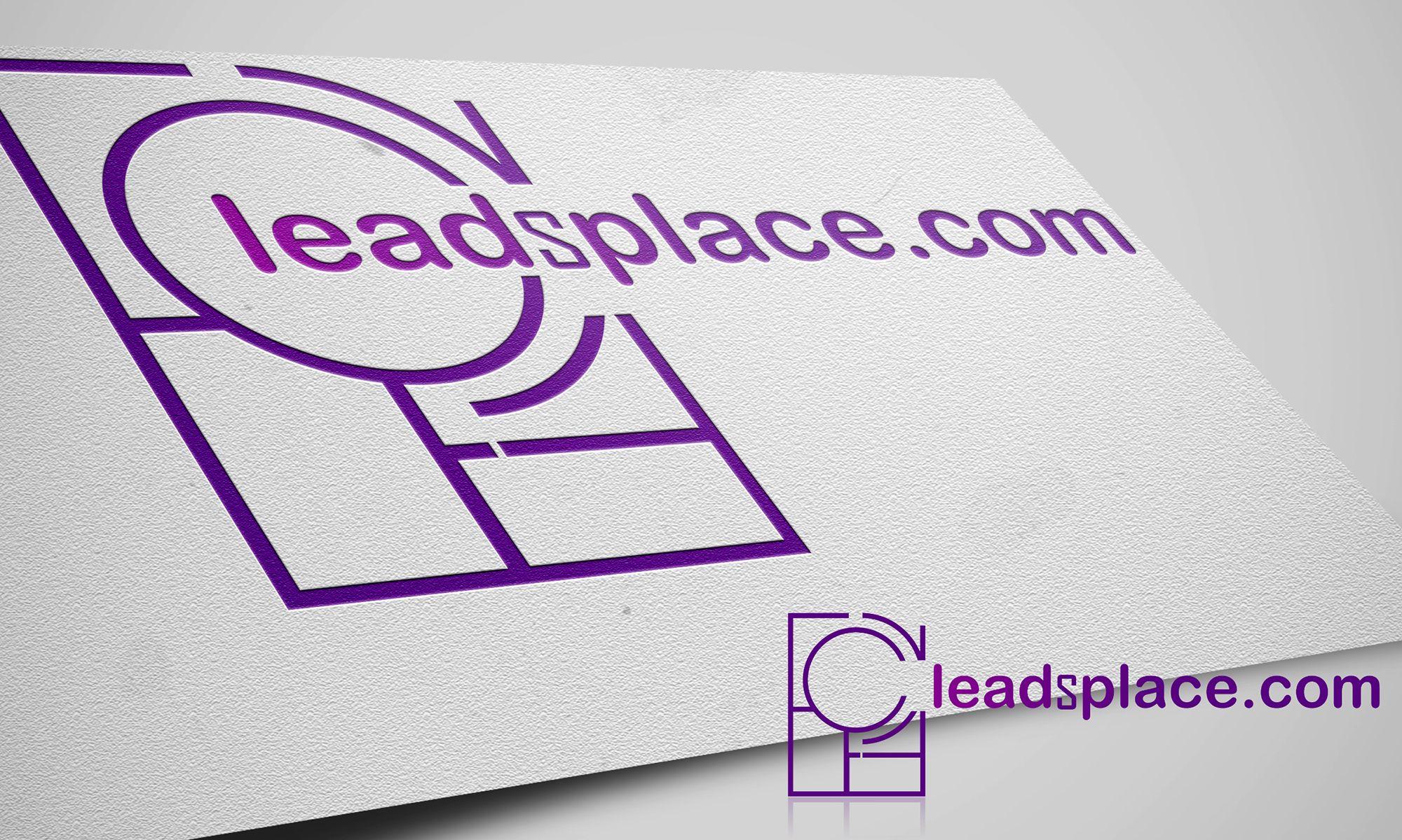 leadsplace.com - логотип - дизайнер GQmyteam