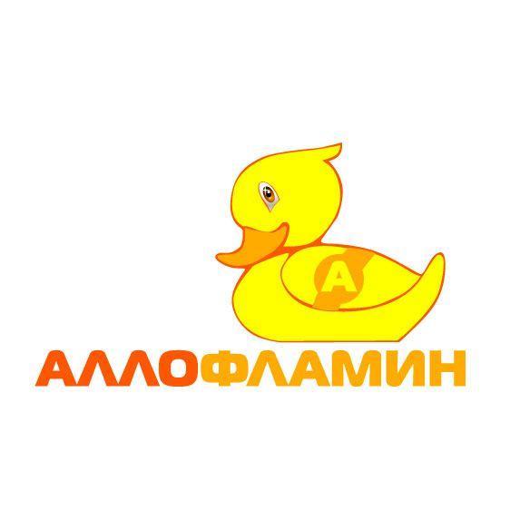 Логотип препарата Аллофламин - дизайнер zhutol