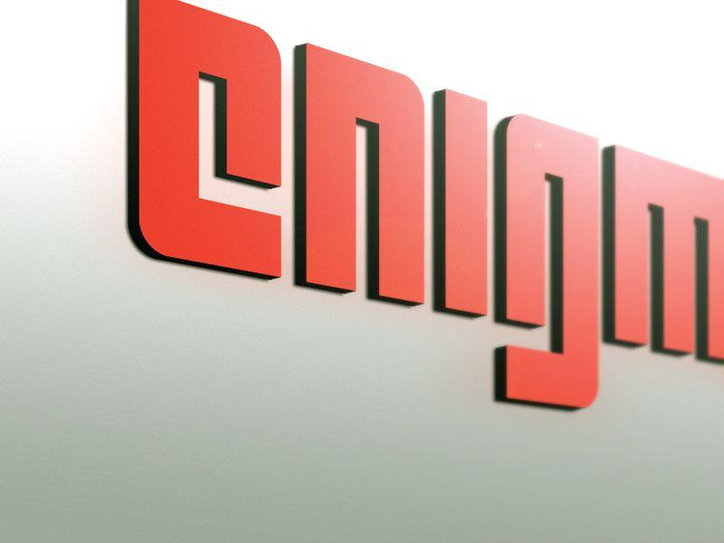 Логотип и фирмстиль для Enigma - дизайнер JuraK
