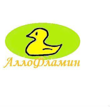 Логотип препарата Аллофламин - дизайнер Murano-26