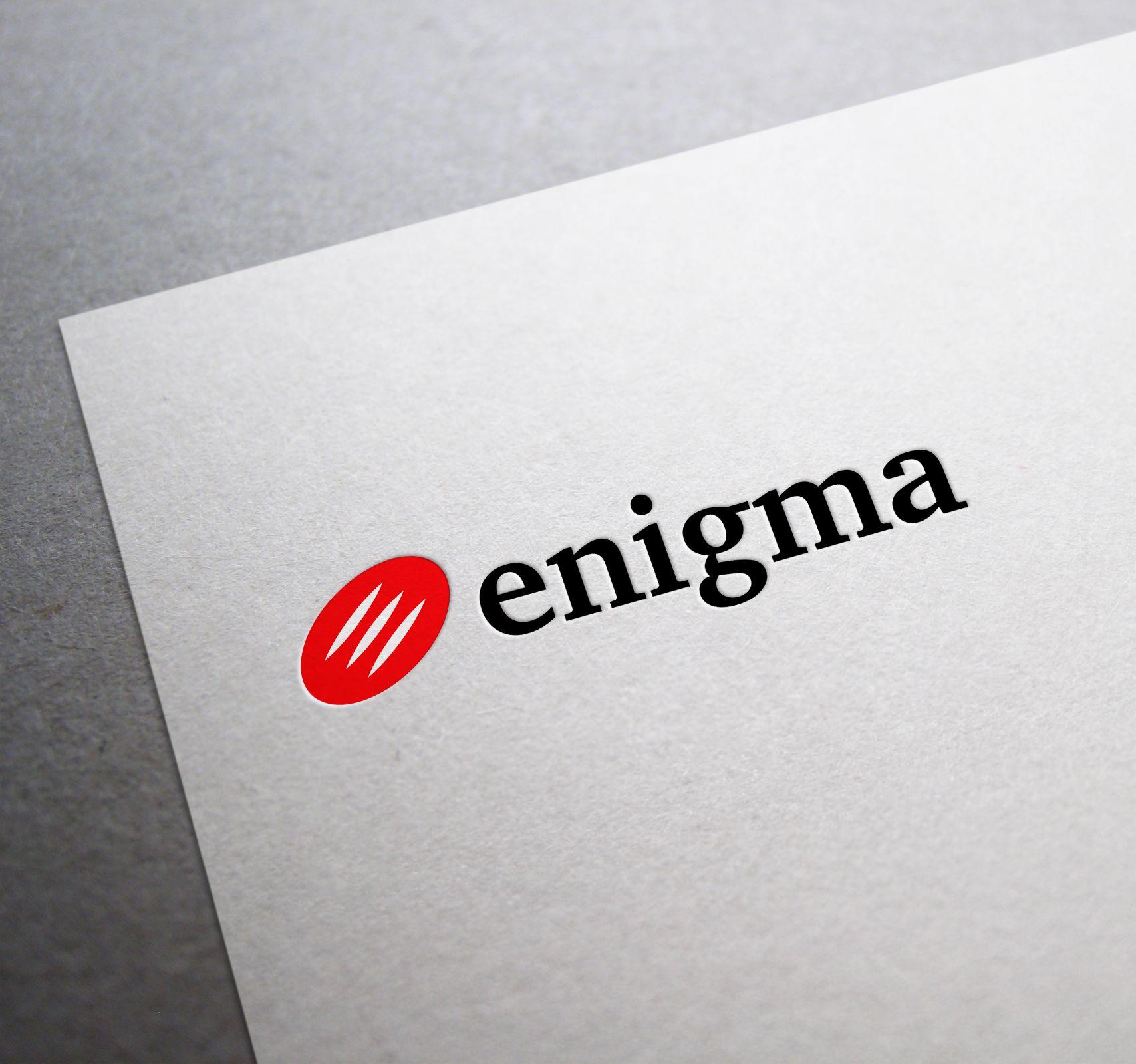 Логотип и фирмстиль для Enigma - дизайнер Wou1ter