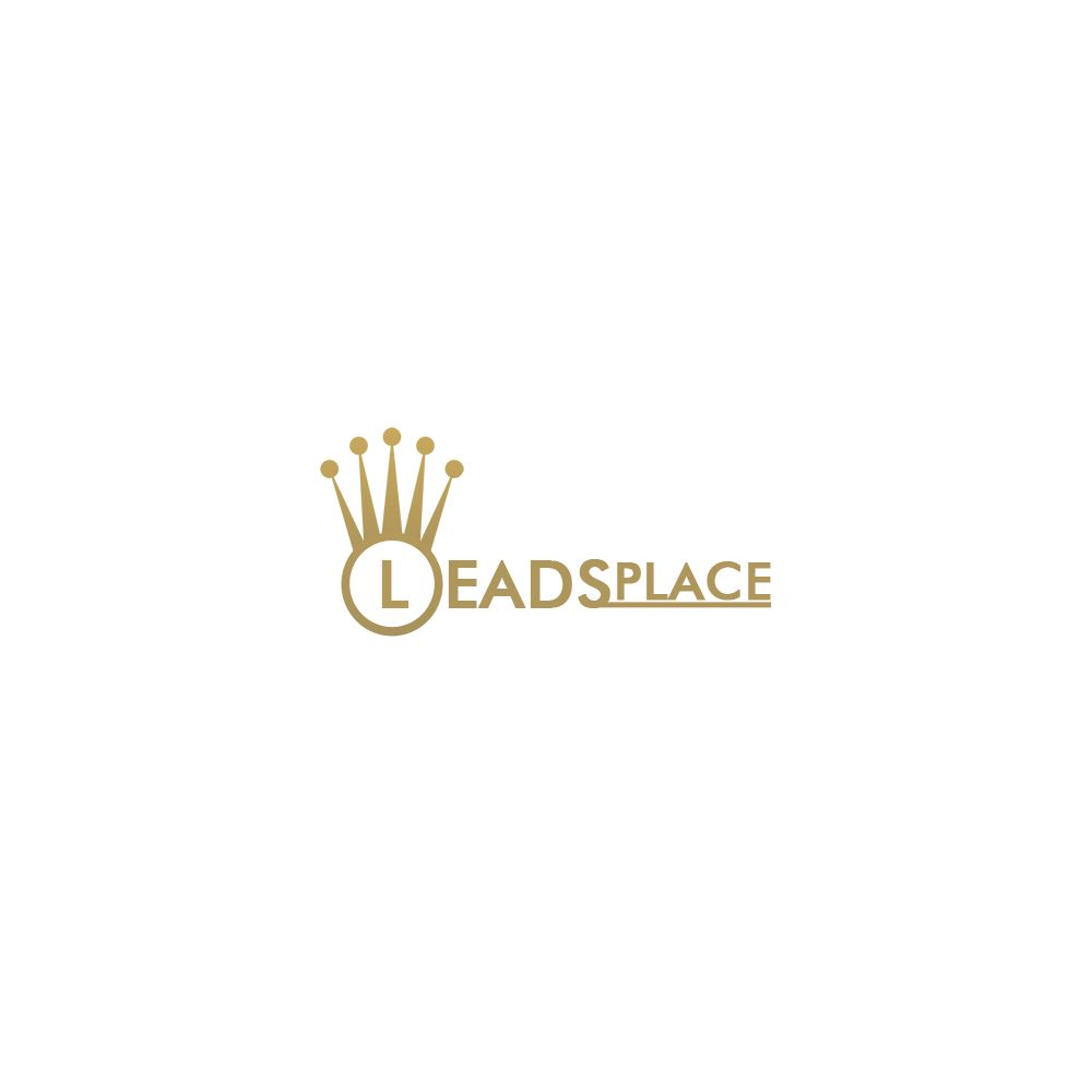 leadsplace.com - логотип - дизайнер Kibish
