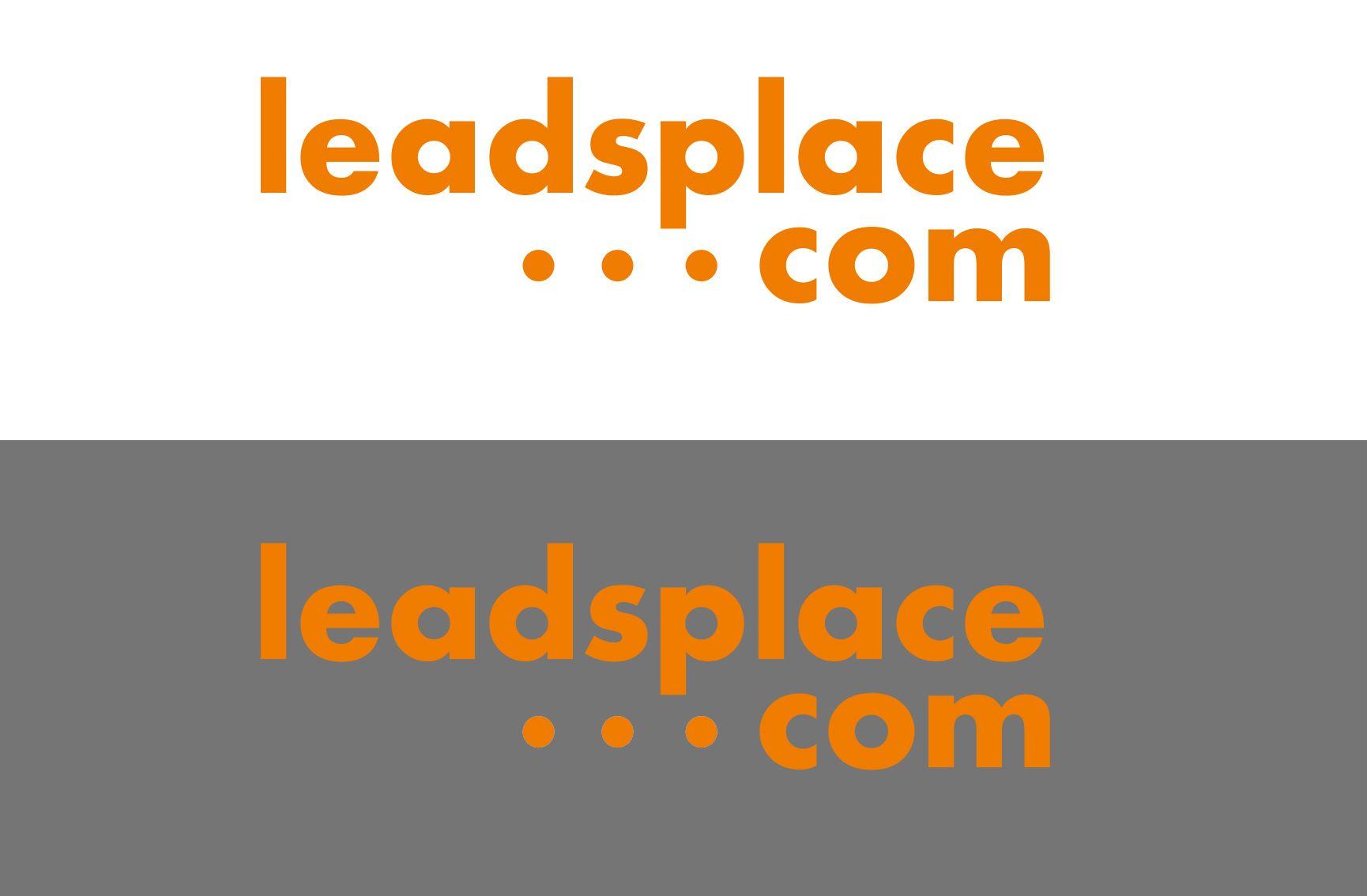 leadsplace.com - логотип - дизайнер AnnaKoroleva77