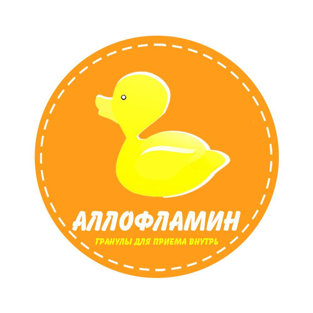 Логотип препарата Аллофламин - дизайнер Yesenia