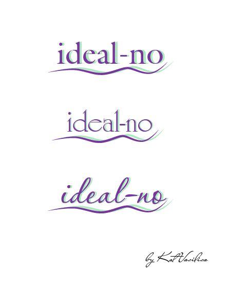 Логотип ideal-no.com - дизайнер Kot_Vasilisa