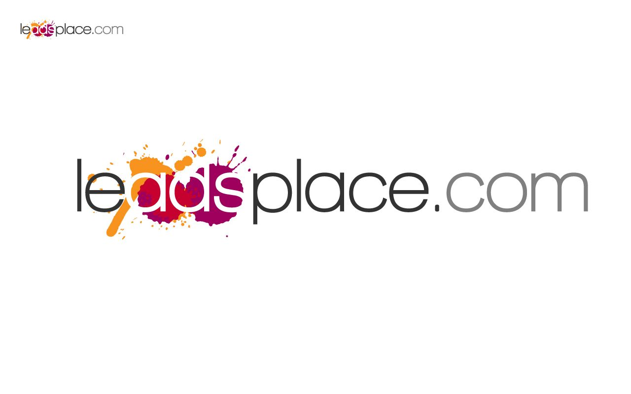 leadsplace.com - логотип - дизайнер Stiff2000