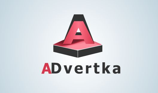 логотип для интернет агентства ADvertka - дизайнер MOUSEholdON