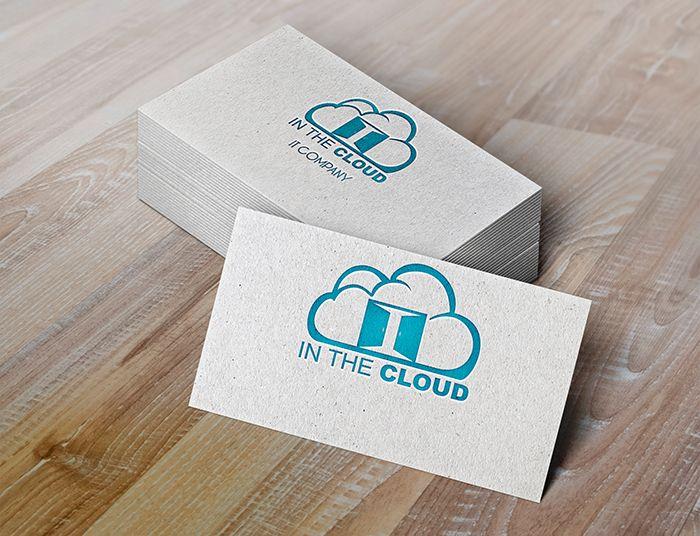 Логотип ИТ-компании InTheCloud - дизайнер toft