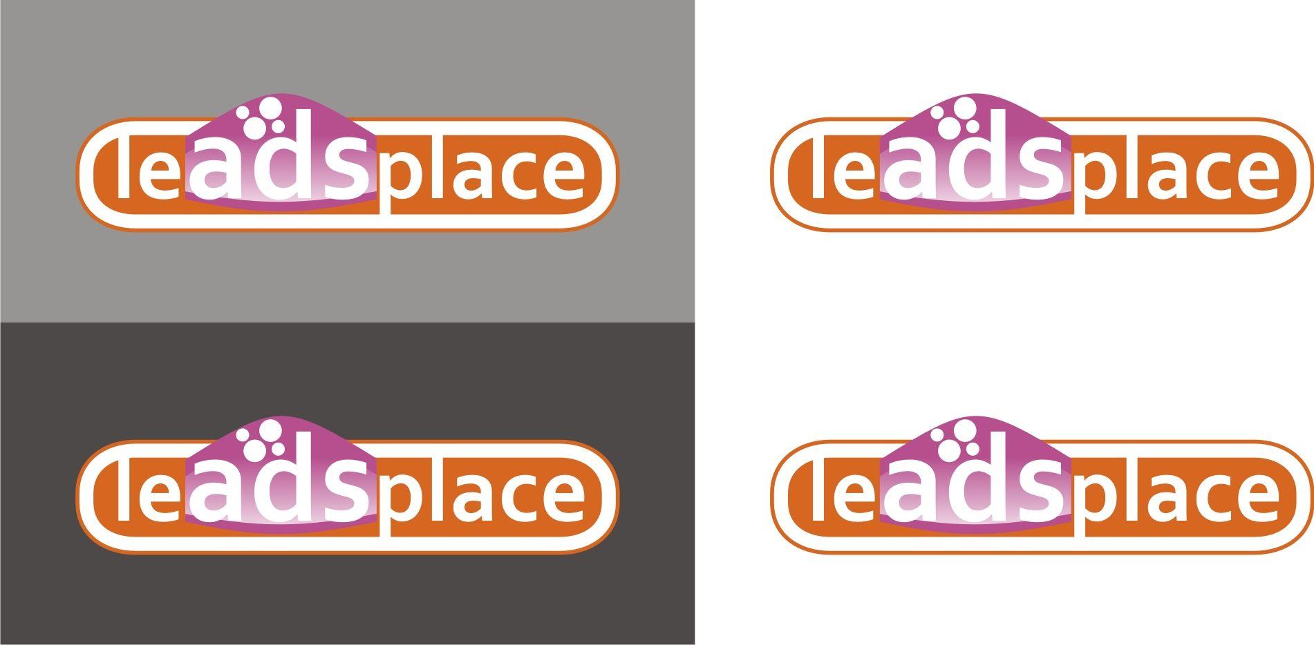 leadsplace.com - логотип - дизайнер Lucknni