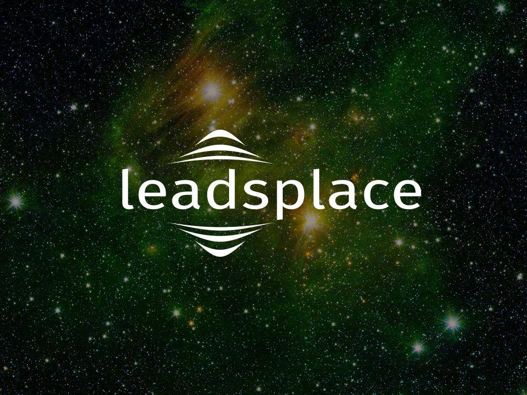 leadsplace.com - логотип - дизайнер msveet