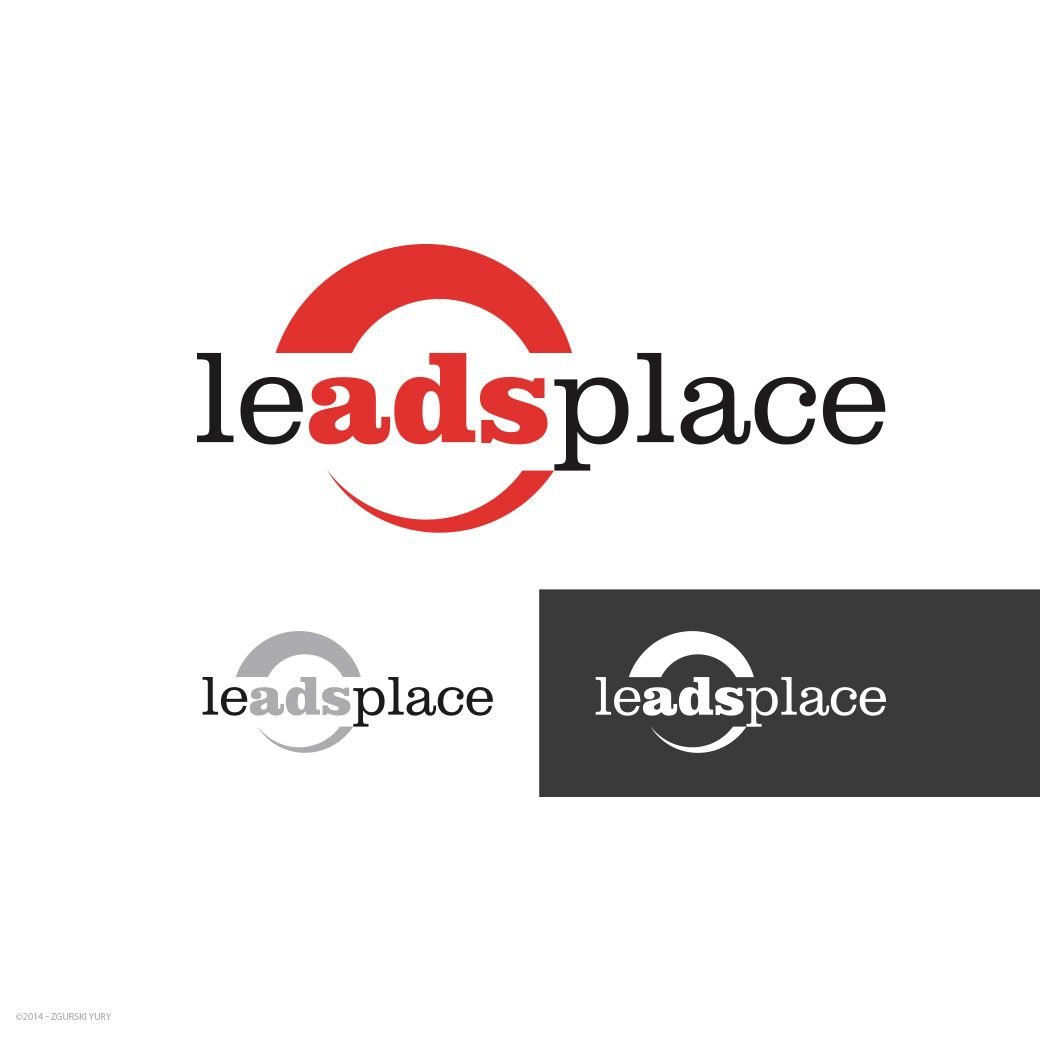 leadsplace.com - логотип - дизайнер Odinus