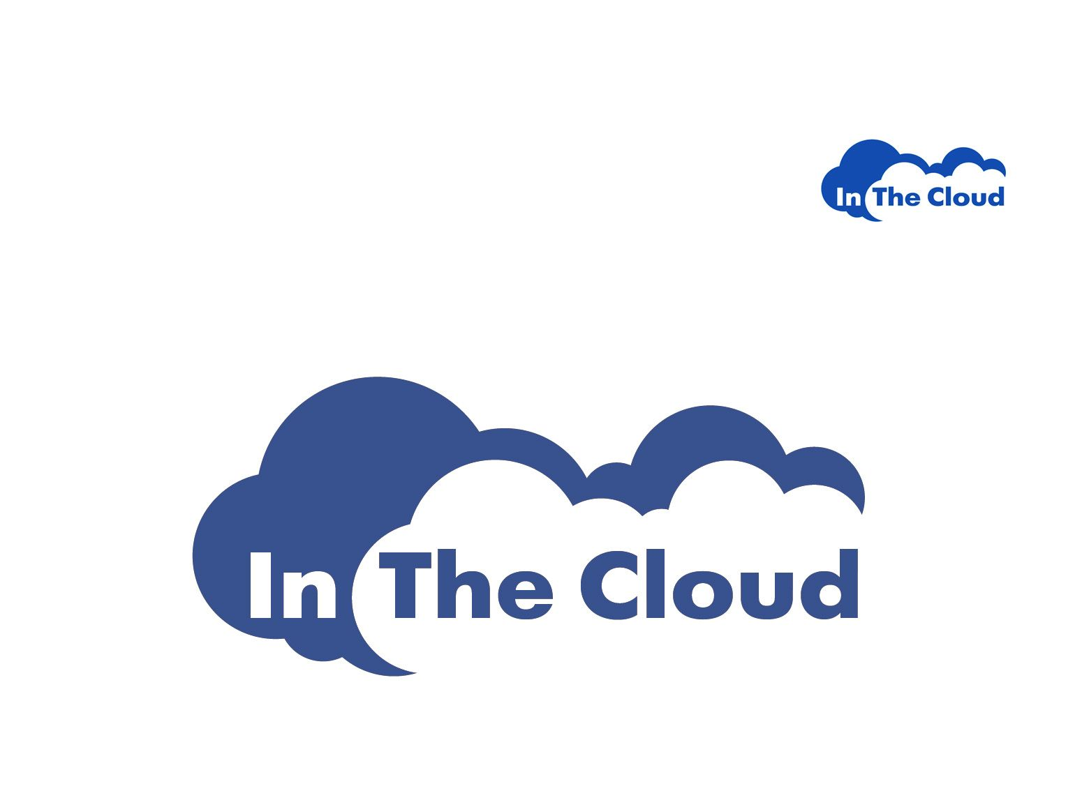 Логотип ИТ-компании InTheCloud - дизайнер BRUINISHE