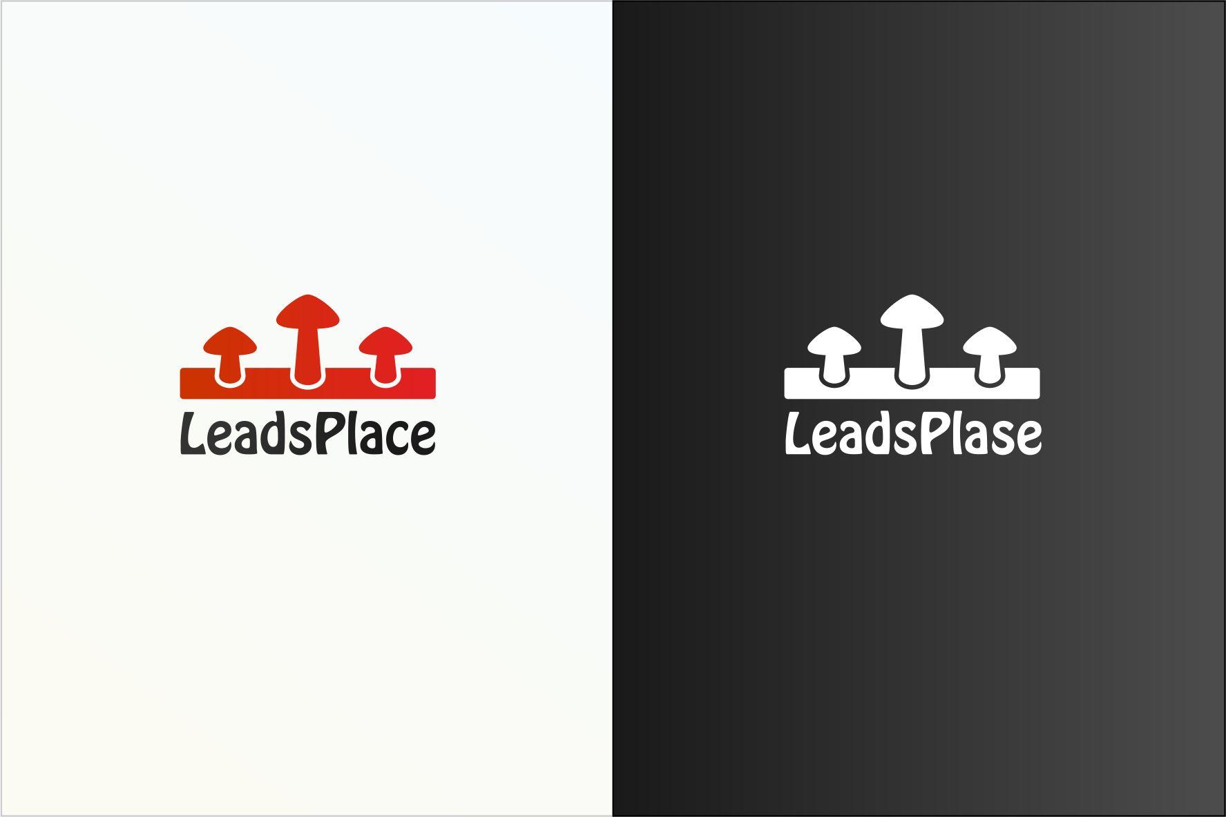 leadsplace.com - логотип - дизайнер V_V
