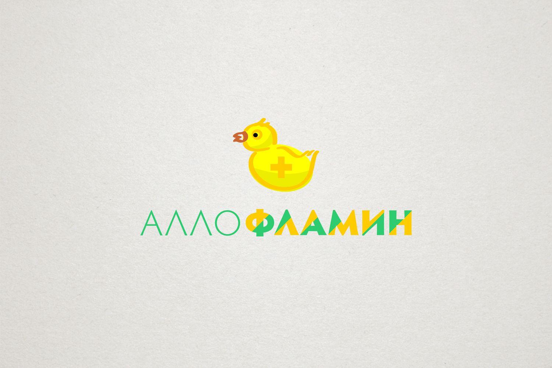 Логотип препарата Аллофламин - дизайнер yula