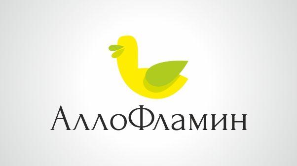 Логотип препарата Аллофламин - дизайнер rammulka