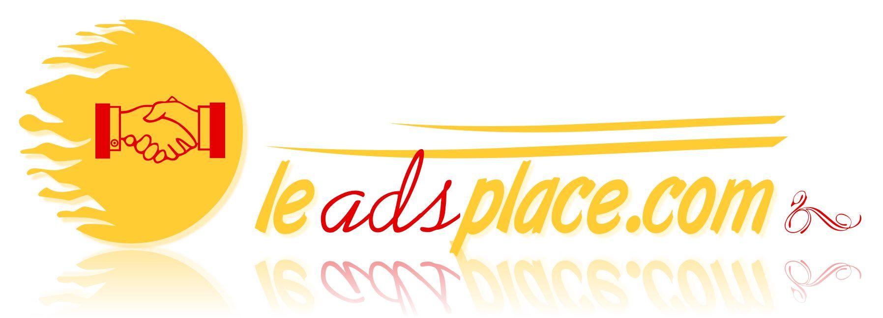 leadsplace.com - логотип - дизайнер BeSSpaloFF