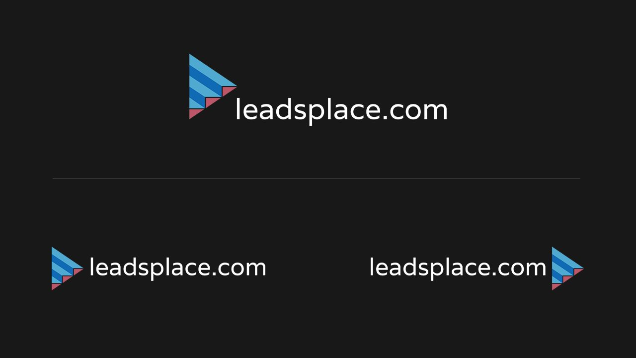 leadsplace.com - логотип - дизайнер RealityOne