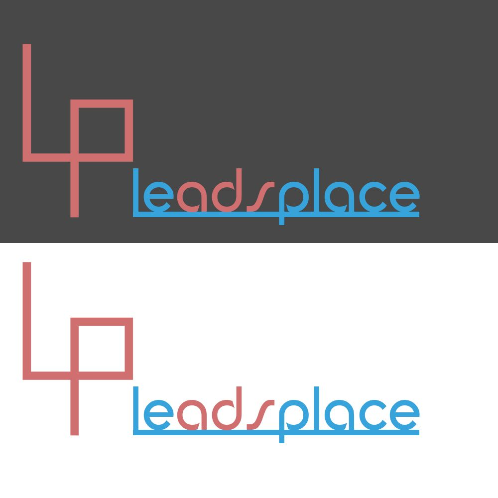 leadsplace.com - логотип - дизайнер Quain