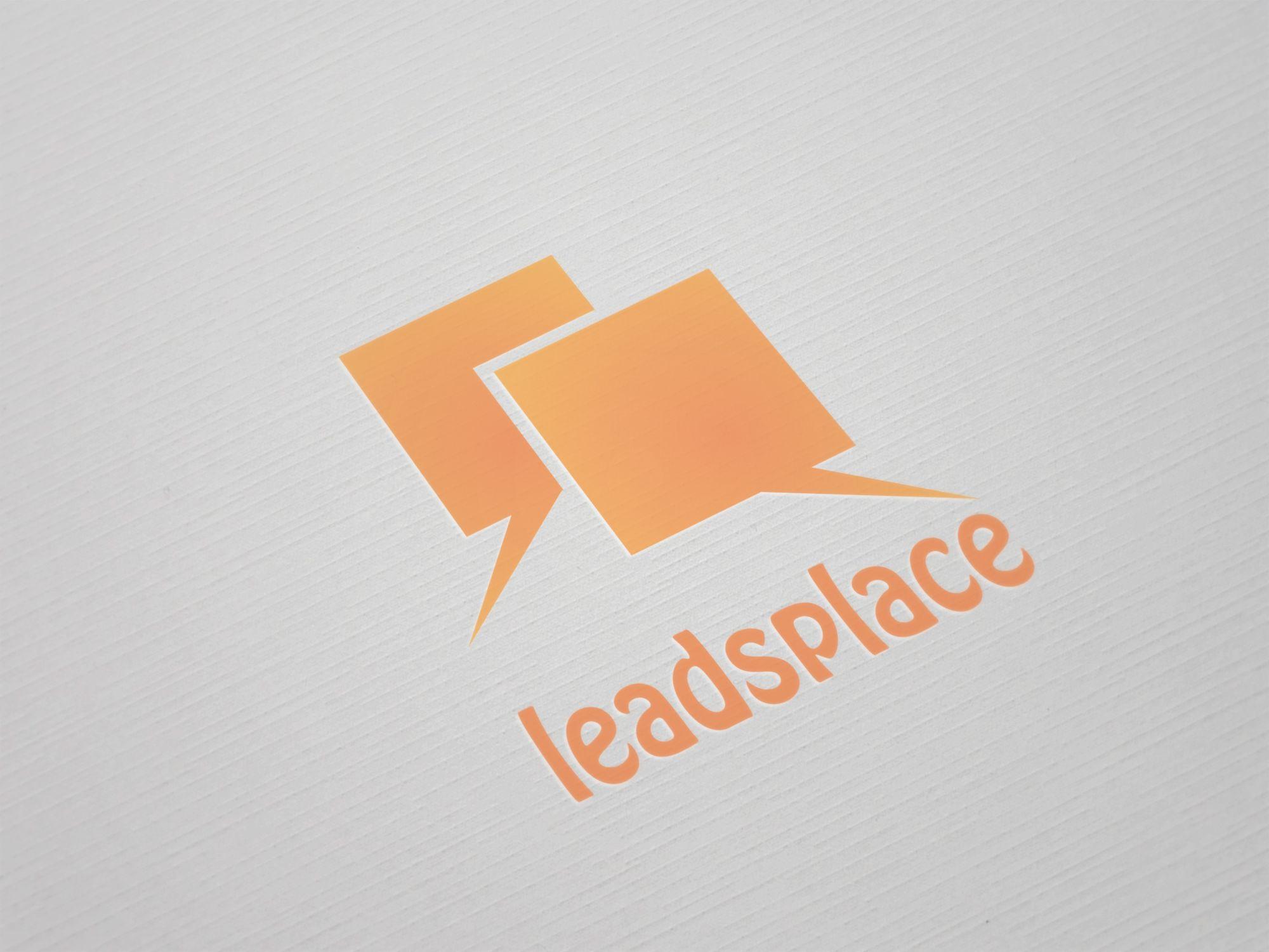 leadsplace.com - логотип - дизайнер Lepata
