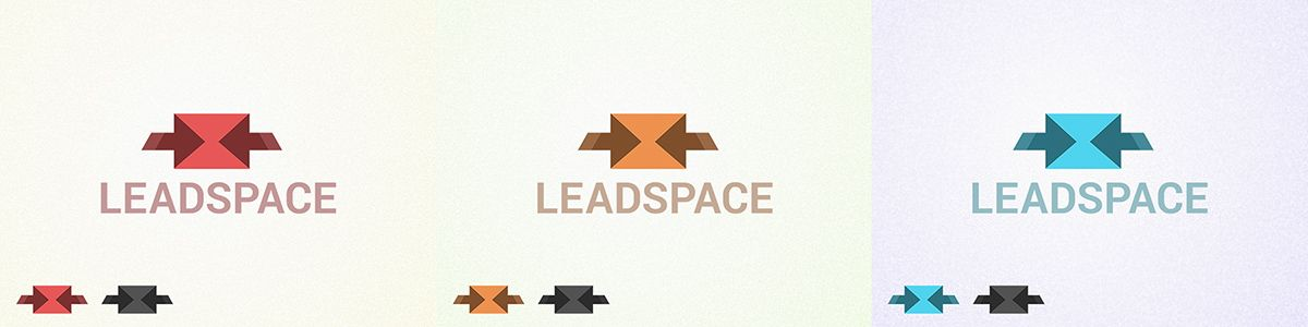 leadsplace.com - логотип - дизайнер Tikhomirovs