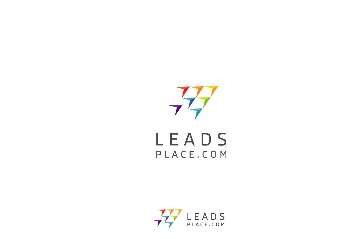 leadsplace.com - логотип - дизайнер zet333