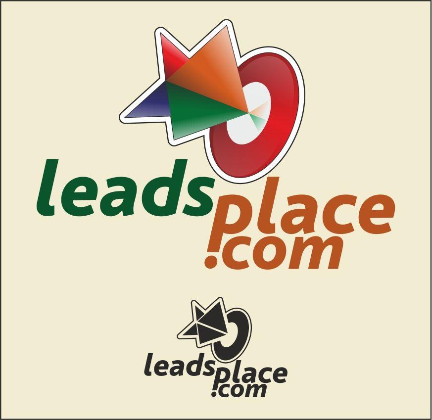 leadsplace.com - логотип - дизайнер cra3e