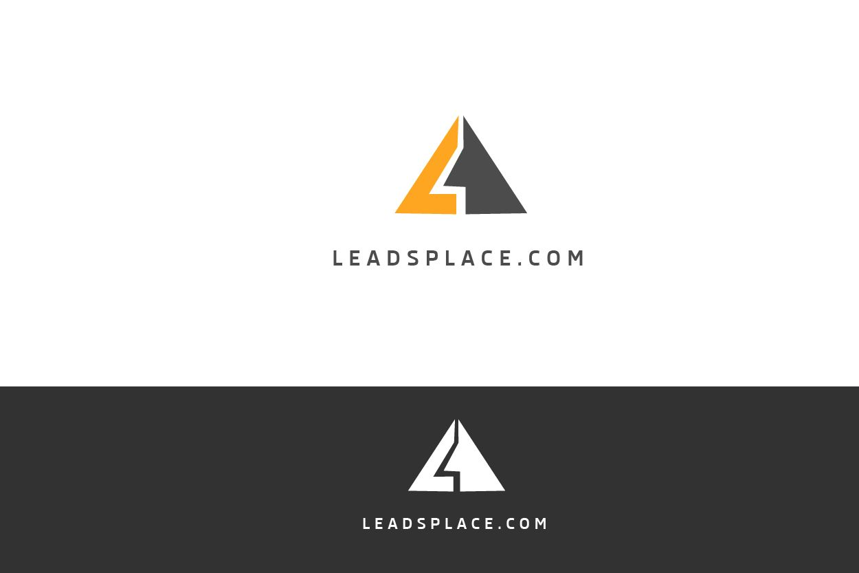 leadsplace.com - логотип - дизайнер zet333
