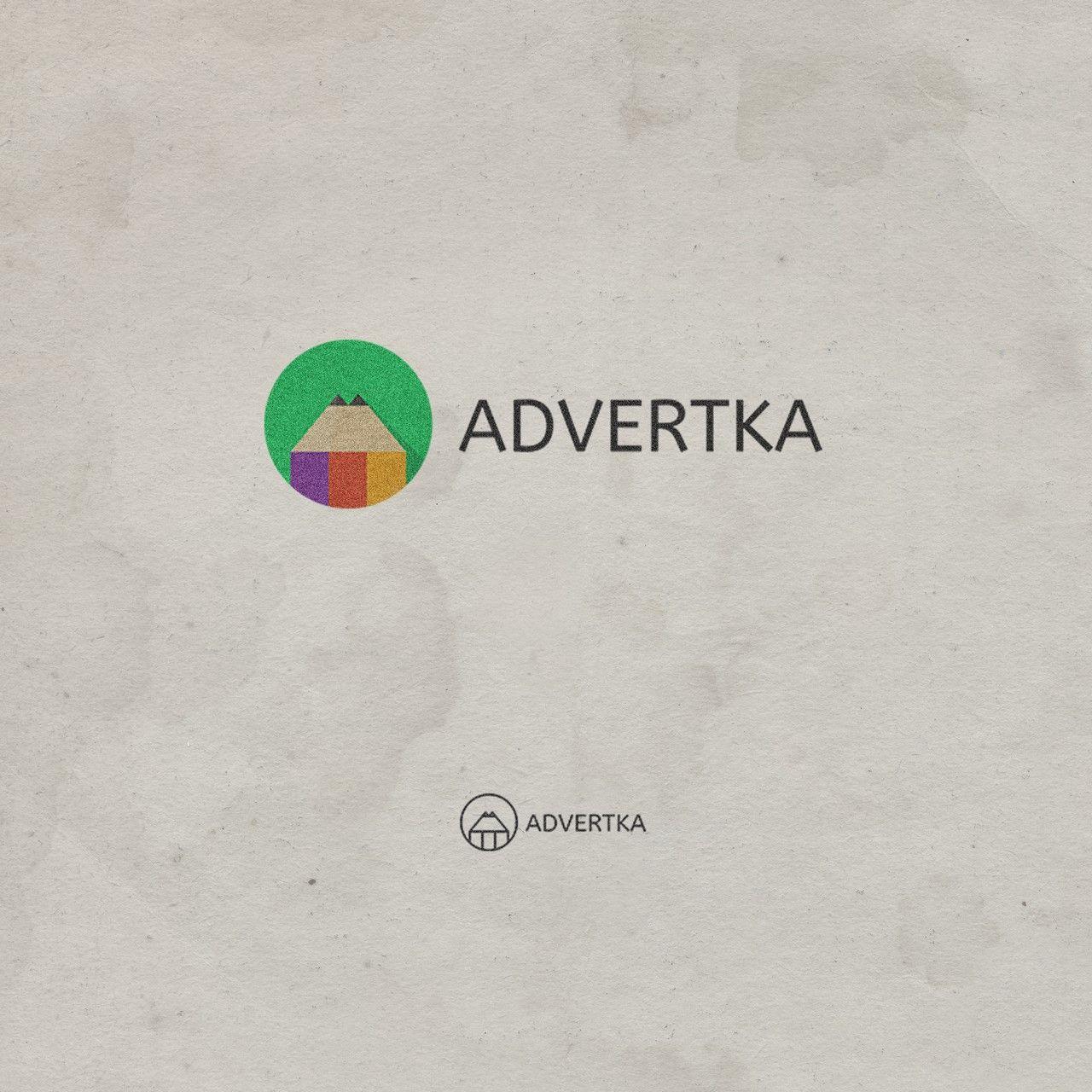 логотип для интернет агентства ADvertka - дизайнер traffikante