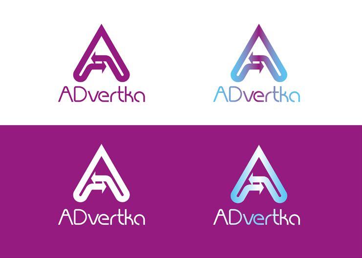 логотип для интернет агентства ADvertka - дизайнер Krakazjava
