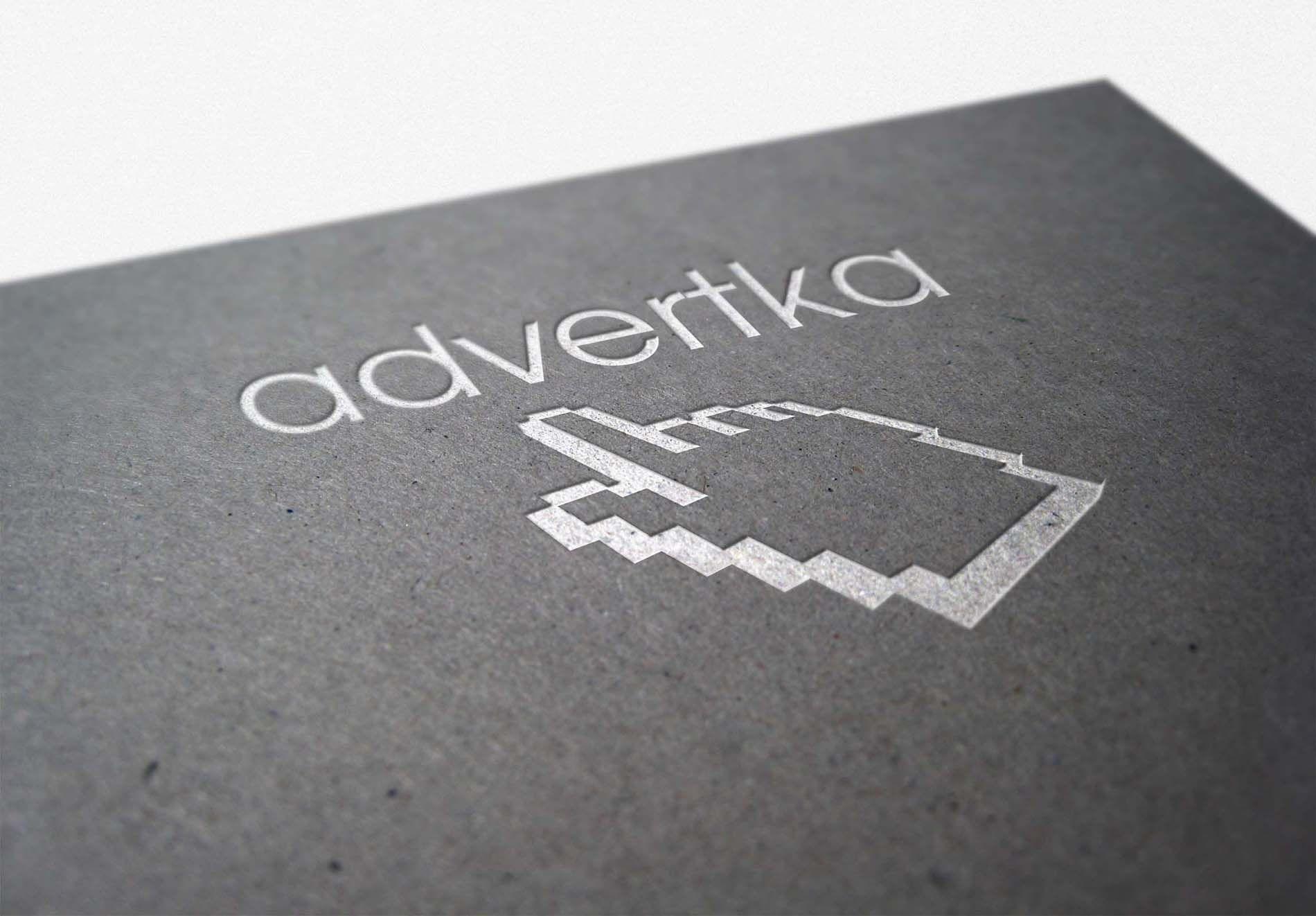 логотип для интернет агентства ADvertka - дизайнер yackoff