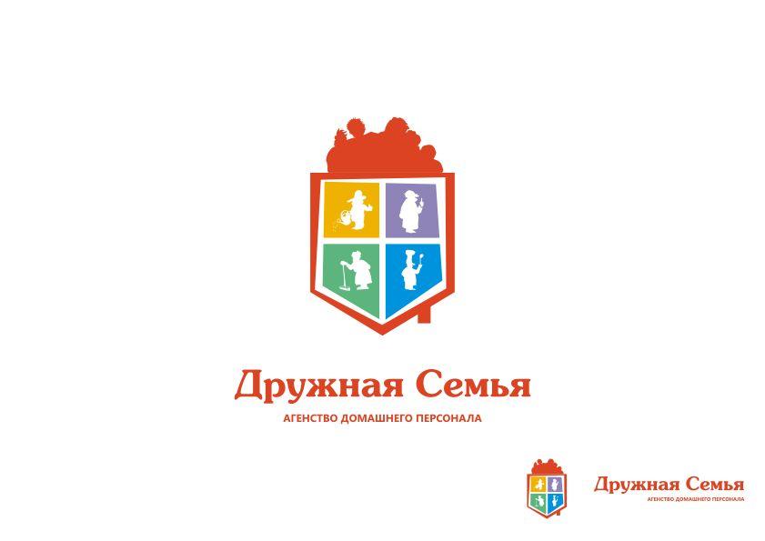 Логотип агентства домашнего персонала - дизайнер Yak84