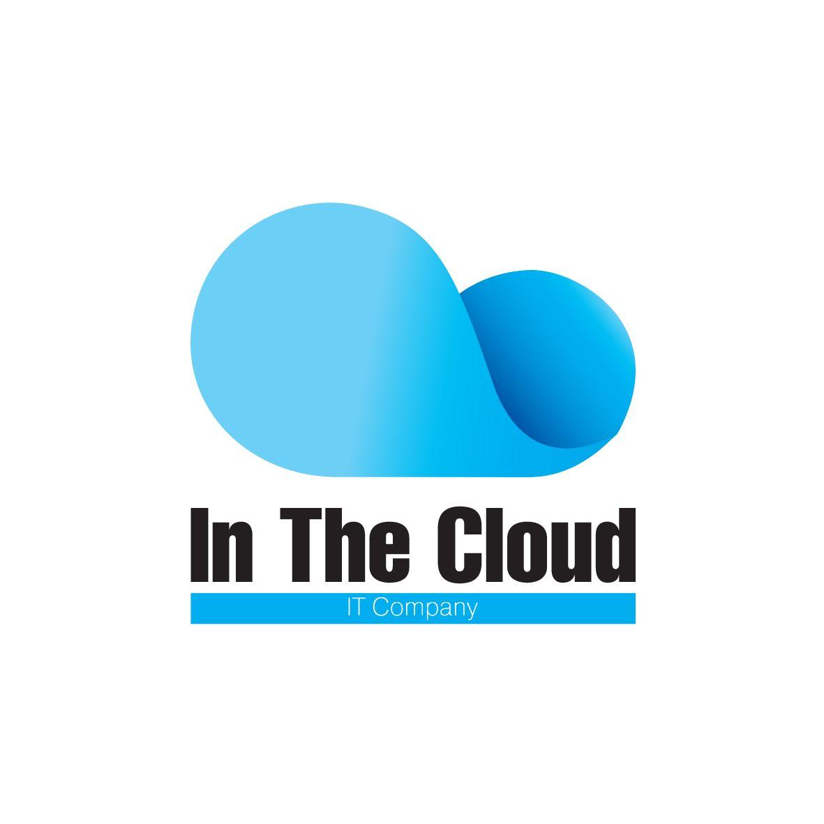 Логотип ИТ-компании InTheCloud - дизайнер kit-design