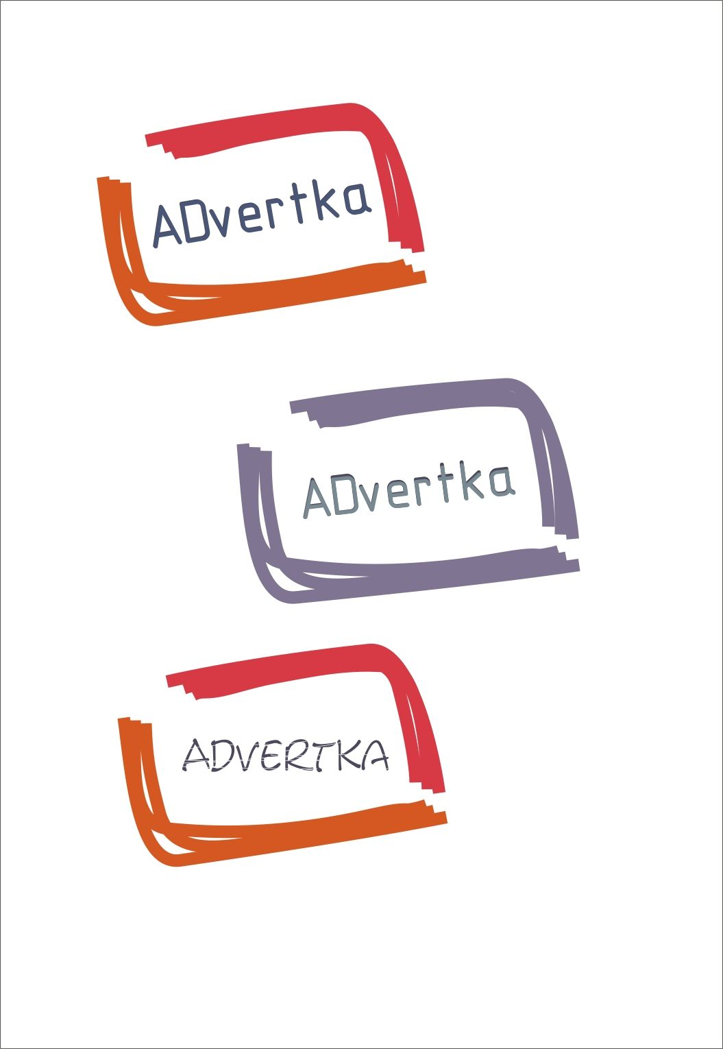 логотип для интернет агентства ADvertka - дизайнер samneu