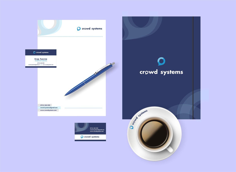 Фирменный стиль для краудсорсинговой компании - дизайнер yula