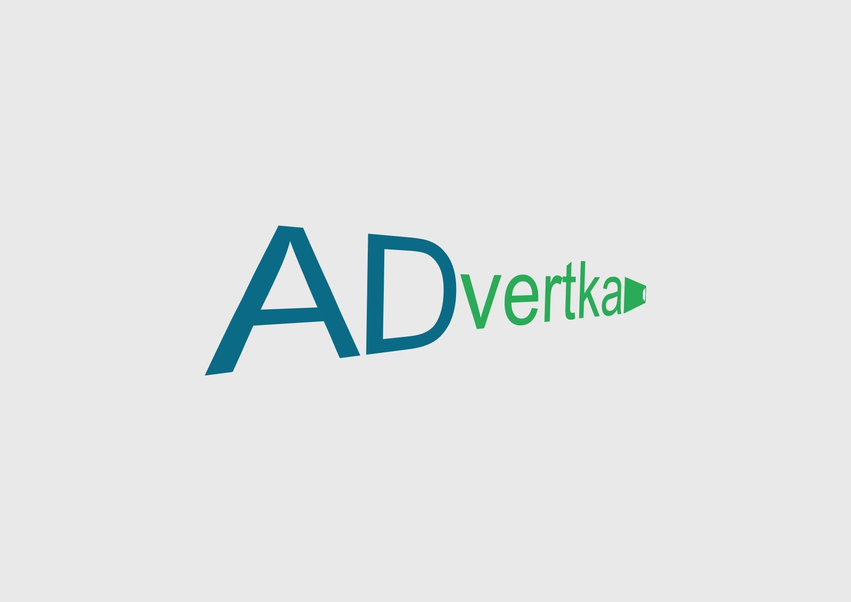 логотип для интернет агентства ADvertka - дизайнер toster108