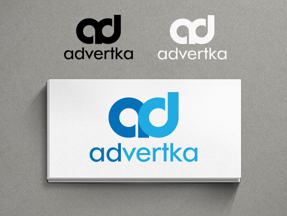 логотип для интернет агентства ADvertka - дизайнер Serenity
