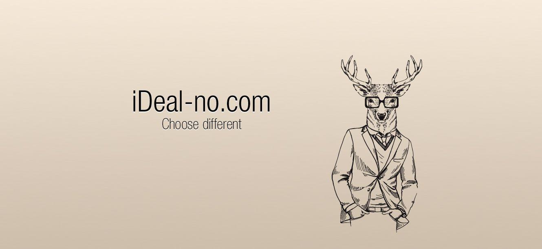 Логотип ideal-no.com - дизайнер EugeneDest