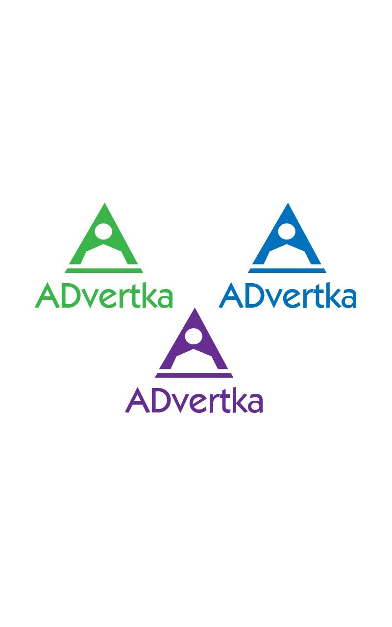 логотип для интернет агентства ADvertka - дизайнер Wou1ter