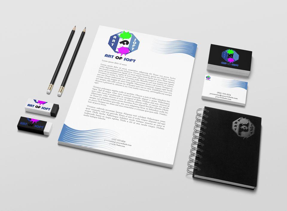 Логотип и фирменный стиль для разработчика ПО - дизайнер Advokat72