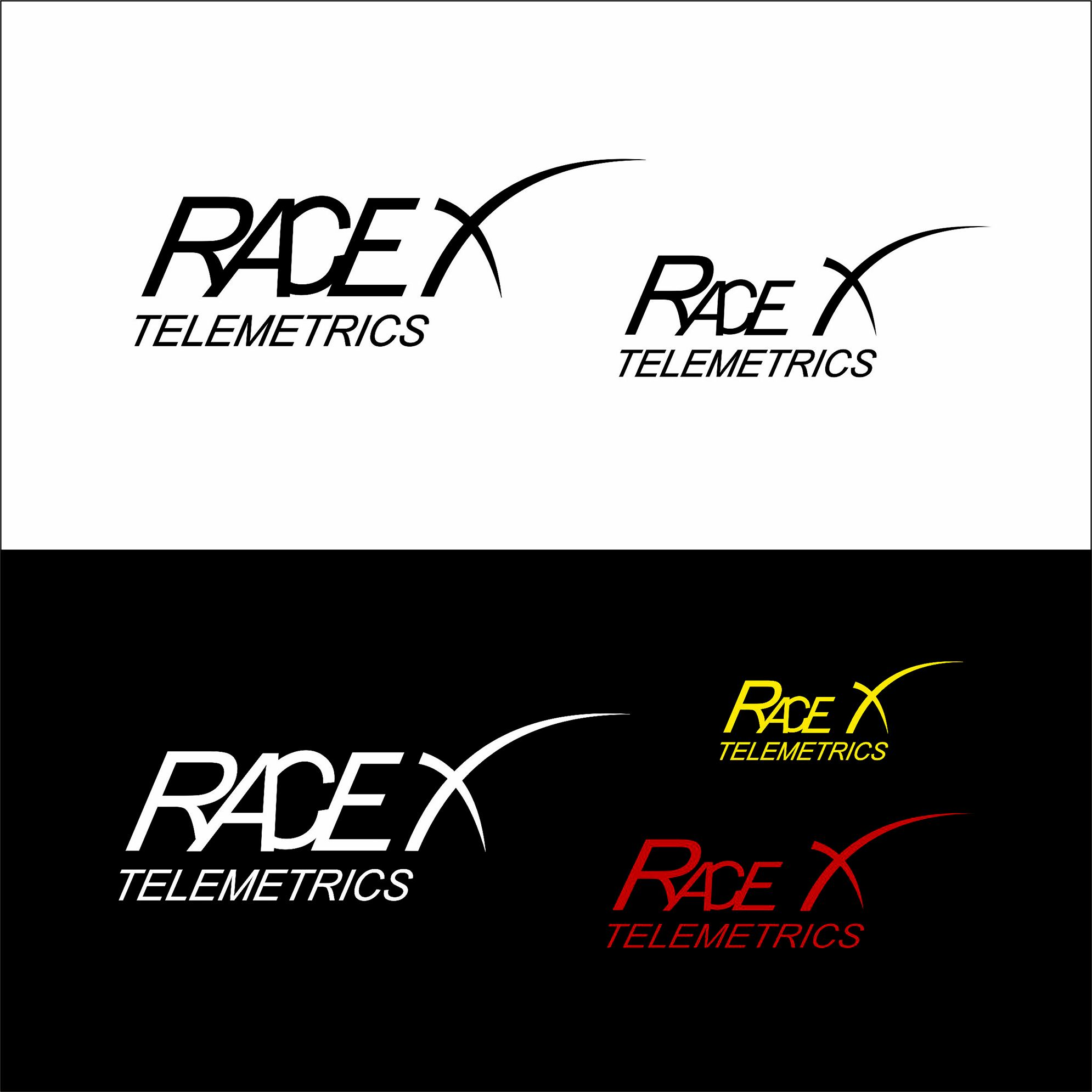 Логотип RaceX Telemetrics  - дизайнер AlexZab