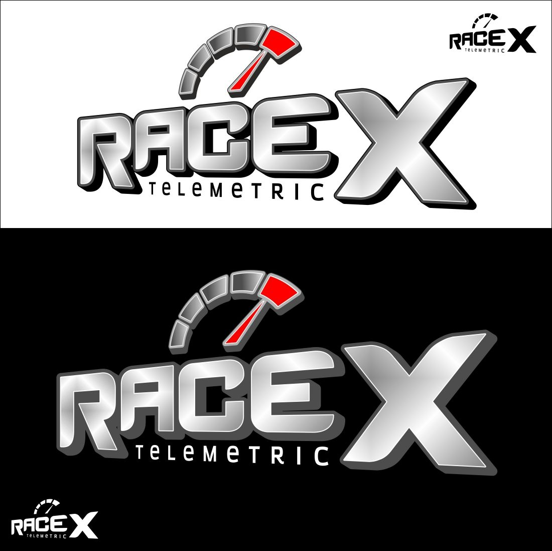 Логотип RaceX Telemetrics  - дизайнер hsochi