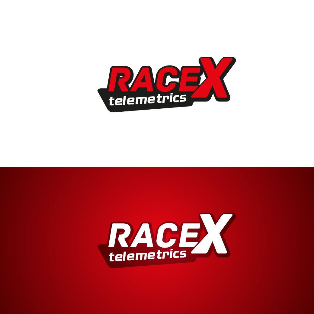 Логотип RaceX Telemetrics  - дизайнер STAF