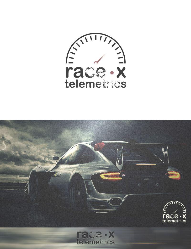 Логотип RaceX Telemetrics  - дизайнер musmodo