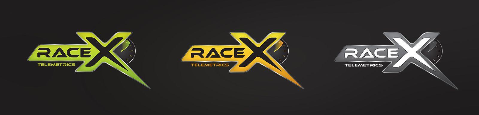 Логотип RaceX Telemetrics  - дизайнер DynamicMotion