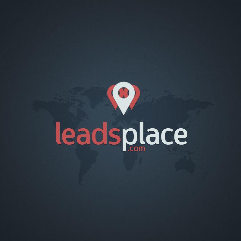 leadsplace.com - логотип - дизайнер musmodo