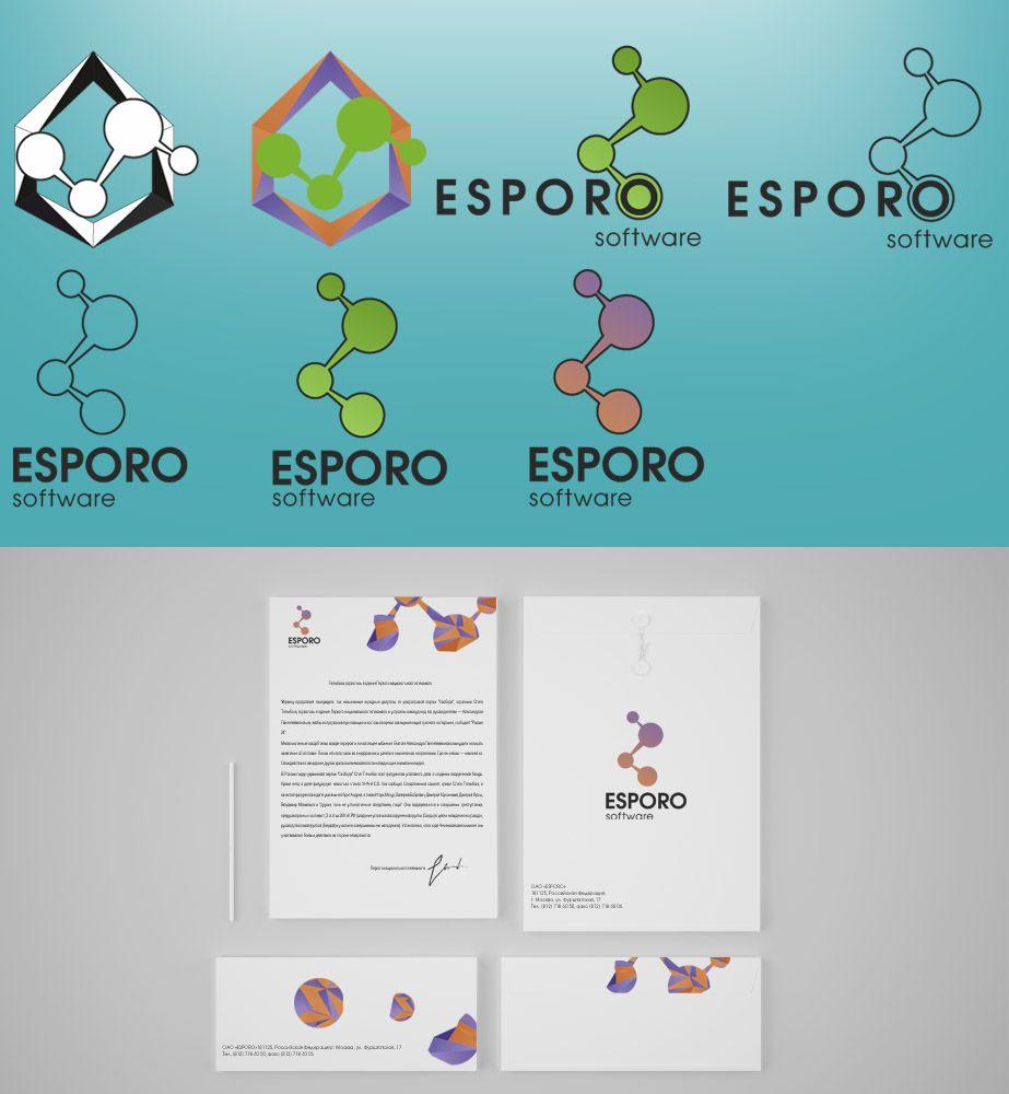 Логотип и фирменный стиль для ИТ-компании - дизайнер Unosti