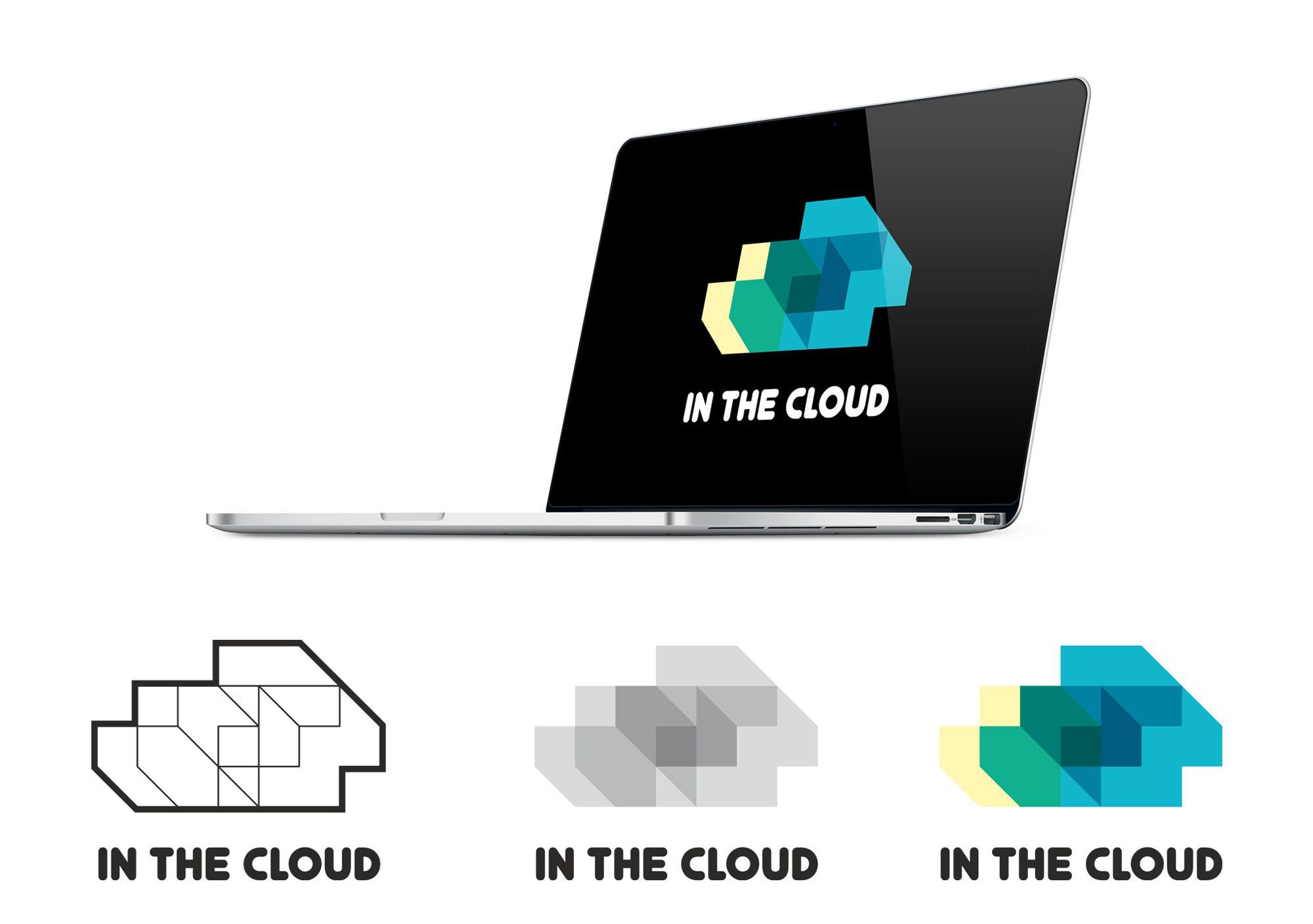 Логотип ИТ-компании InTheCloud - дизайнер RamPamPam