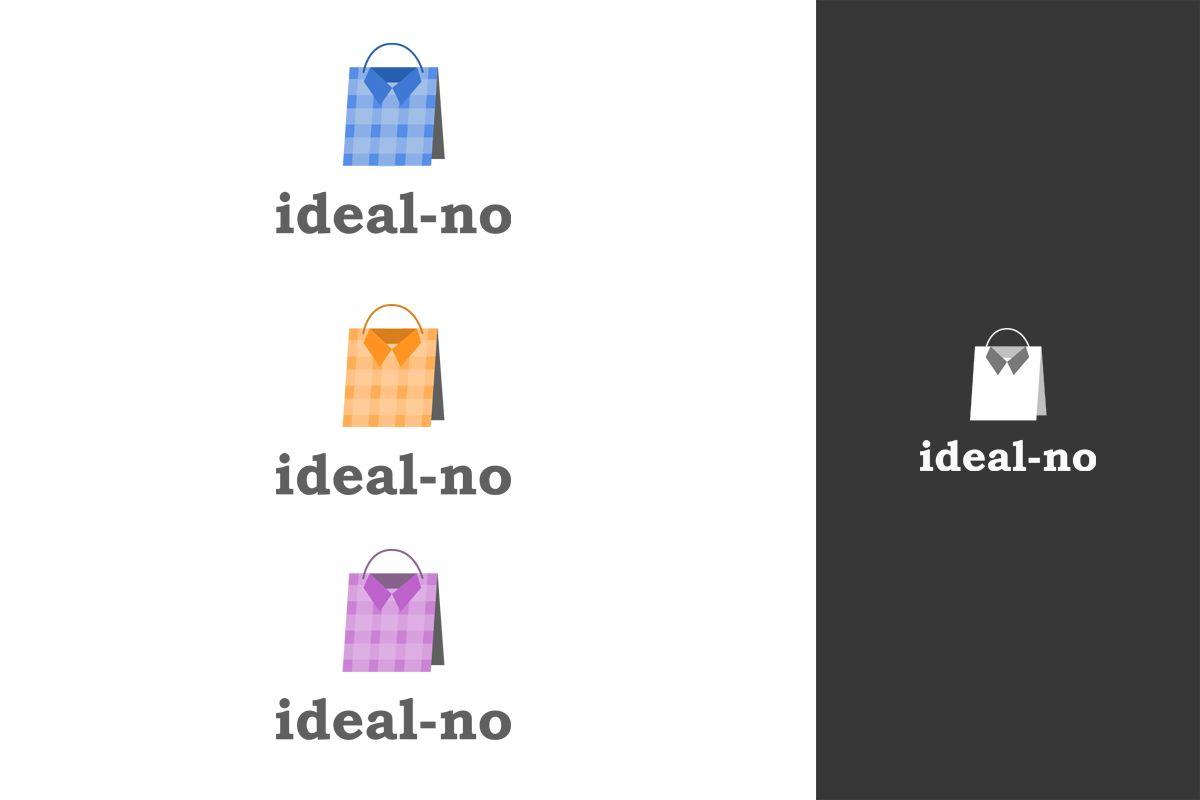 Логотип ideal-no.com - дизайнер CyberGeek