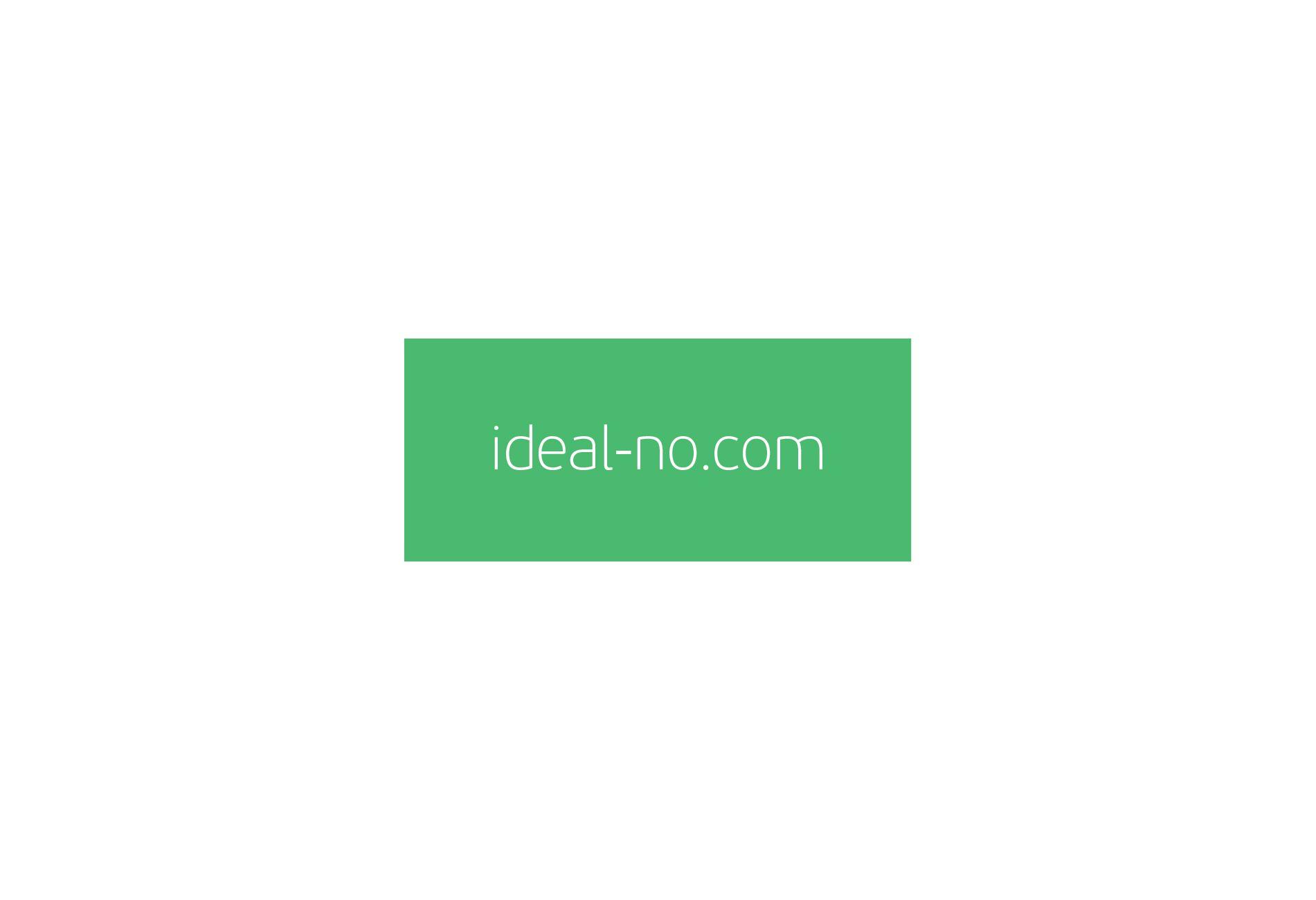 Логотип ideal-no.com - дизайнер PUPIK